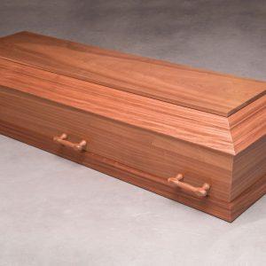 Fleksibel kiste i mahogni