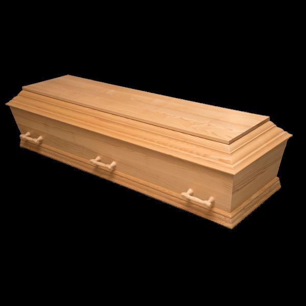 Kiste i egetræsfinér
